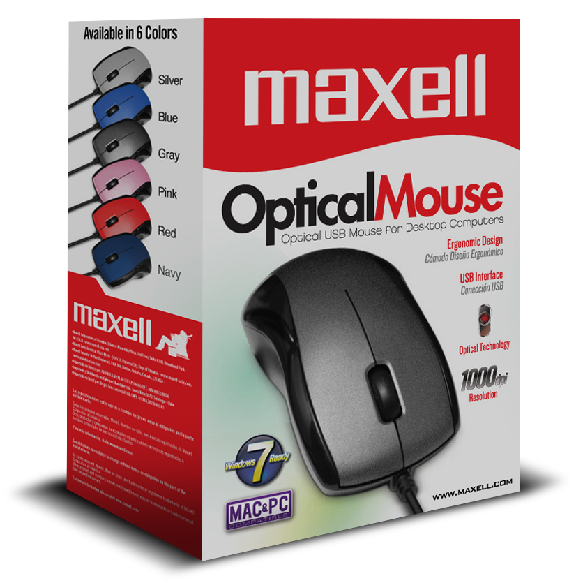 MAXELL OPTICAL USB MOUSE