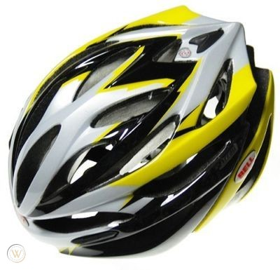 Bell Array Road Bike Helmet - Black/Yellow
