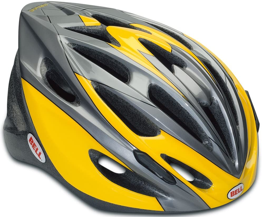 Bell Solar Bike Helmet - Yellow and Grey