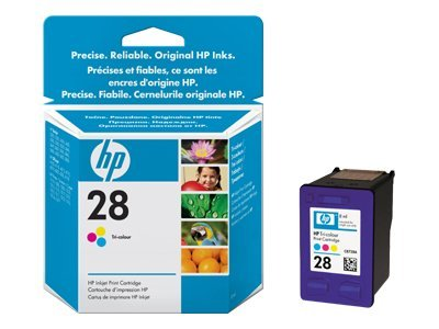 HP 28 - Yellow, cyan, magenta - original