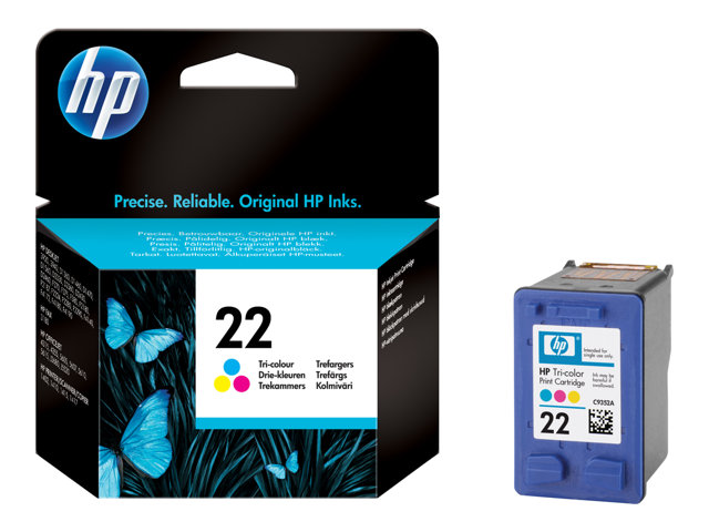HP 22 - Color (cyan, magenta, yellow) - original