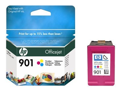HP 901 - Color (cyan, magenta, yellow) - original