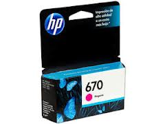 HP 670 - Dye-based magenta - original
