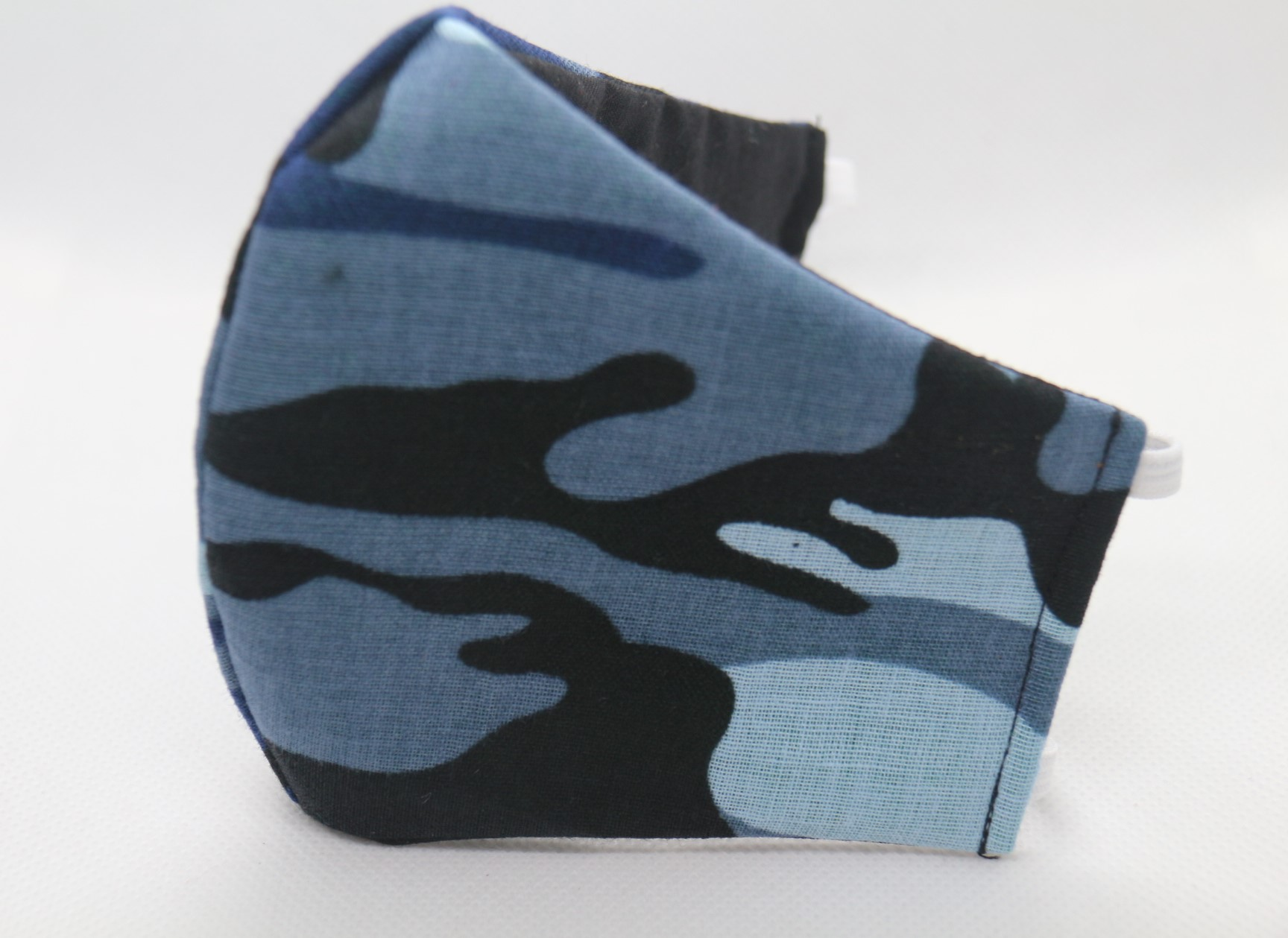 Camouflage Solider (Grey,Black&Blue) Children Mask w/filter