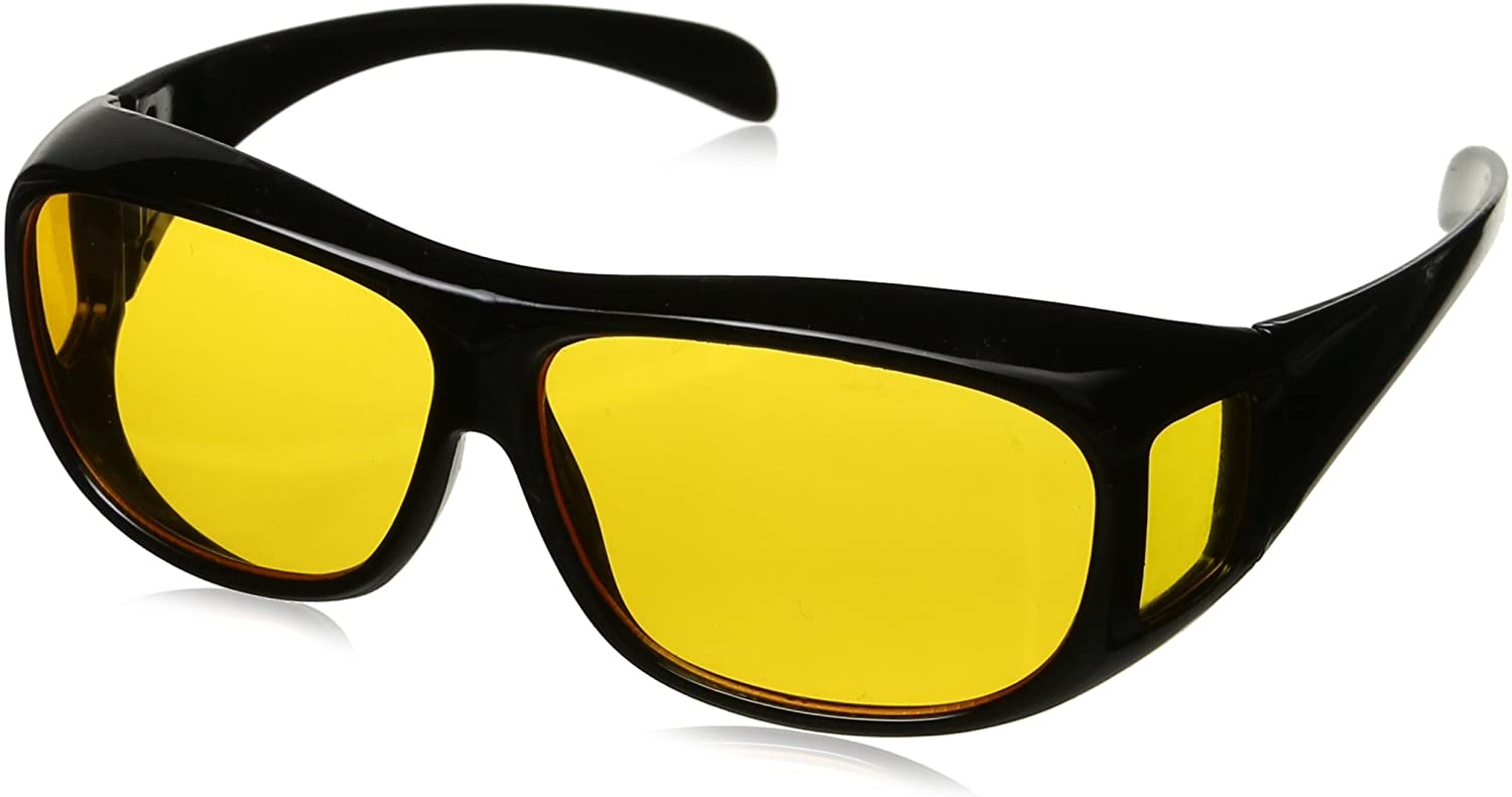 HD Vision Wraparounds Sunglasses/Night Vision Glasses