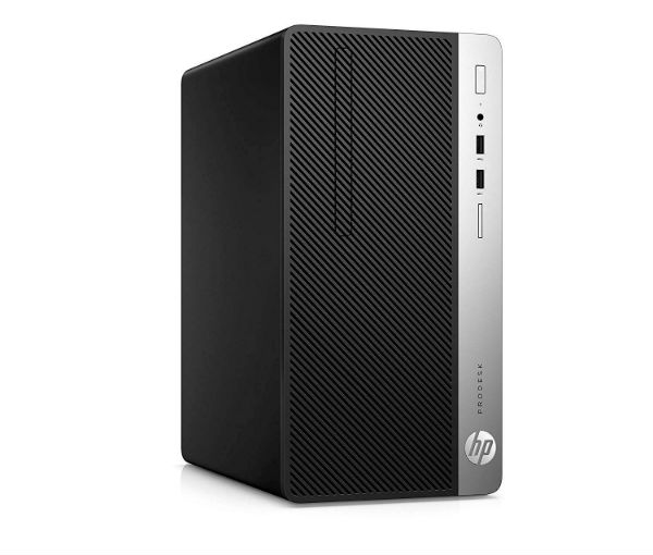HP ProDesk Small Form Factor Computer Desktop I3-8100