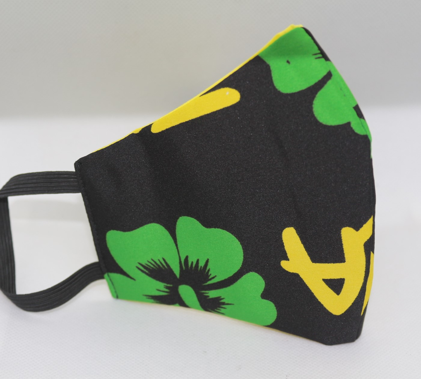 Jamaica Print Triple Layer Face Mask with filter