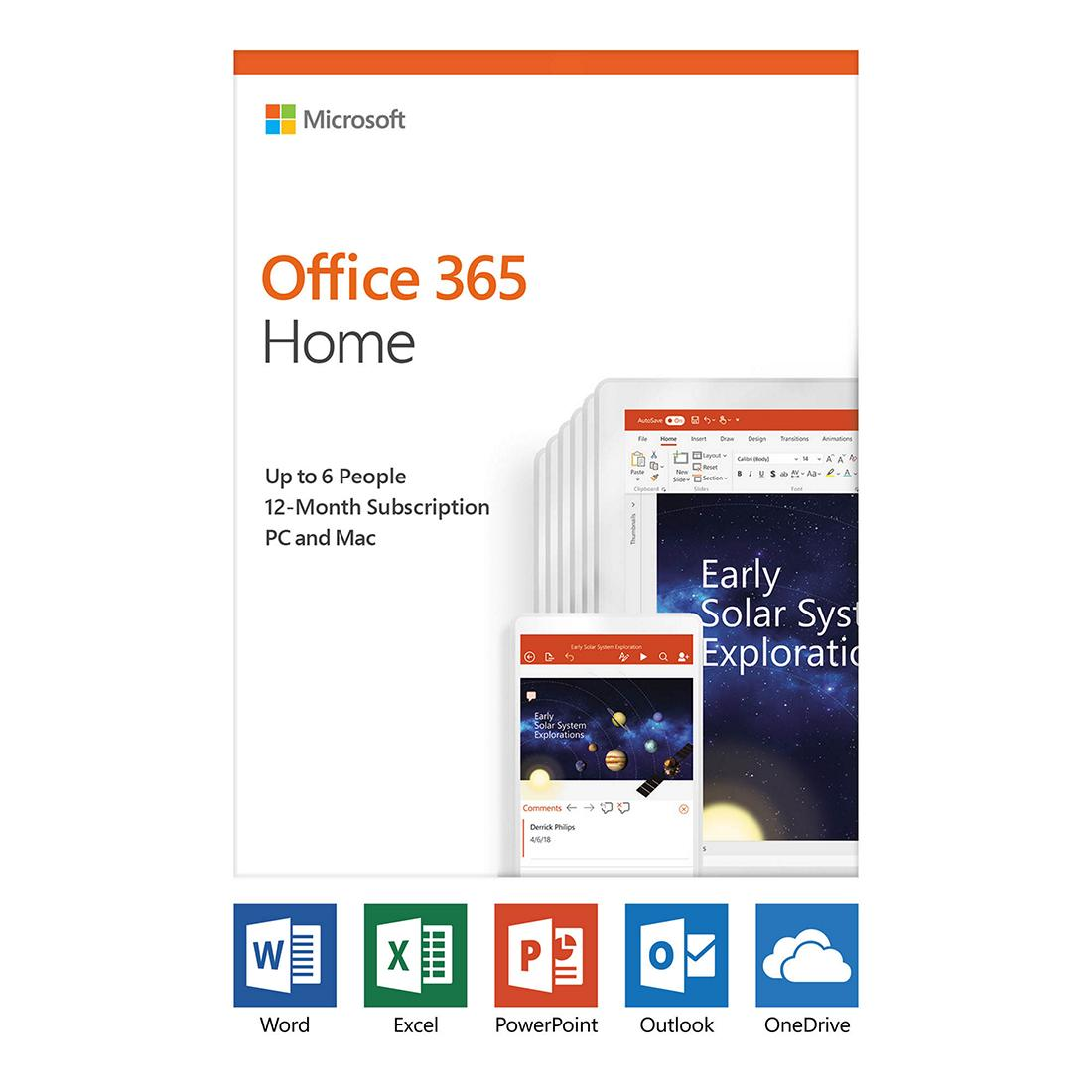 Office 365 Home (1 Year Subscription)