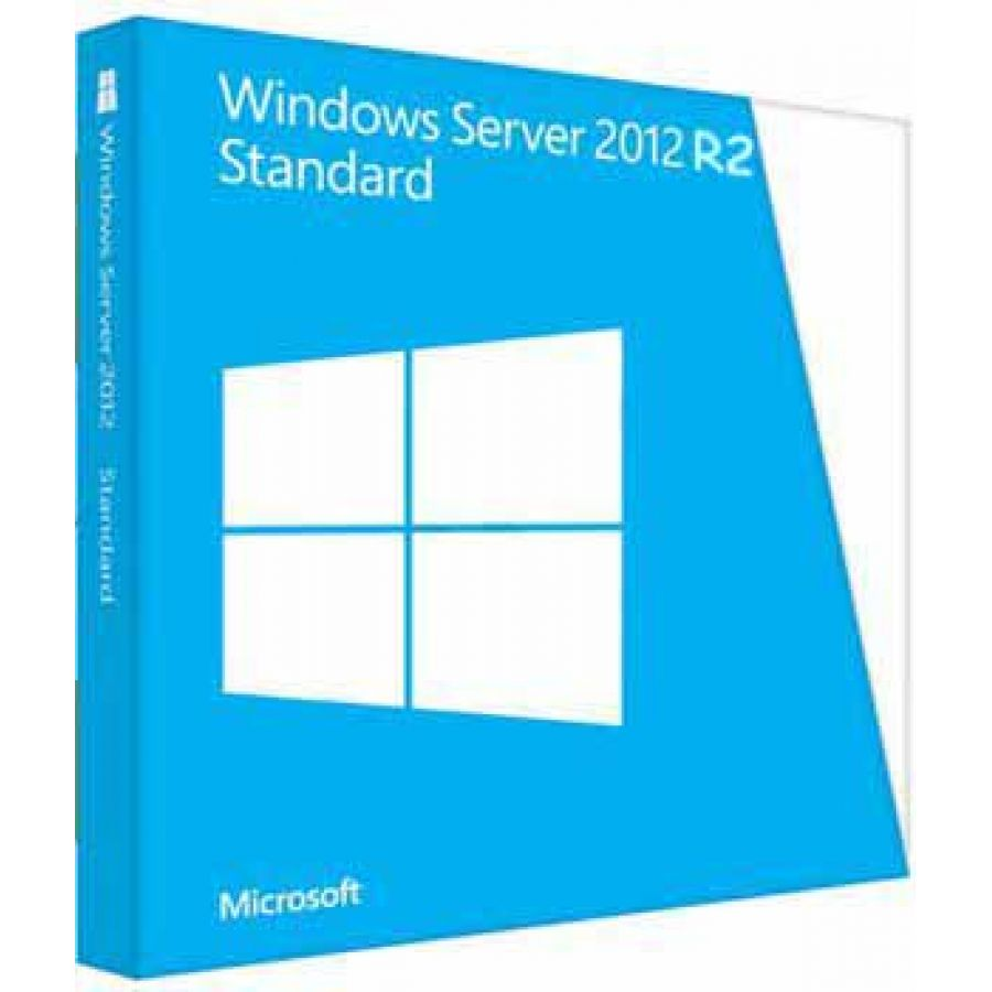 Microsoft Windows Server 2012 R2 Standard - License and media -
