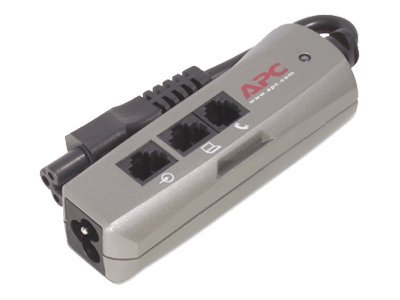 APC SurgeArrest Notebook Pro C6 w/TEL/NET - Surge suppressor - A