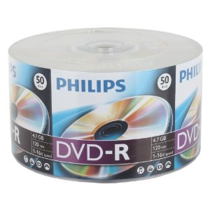 Phillips DVD-R 8x Blank DVD 4.7GB