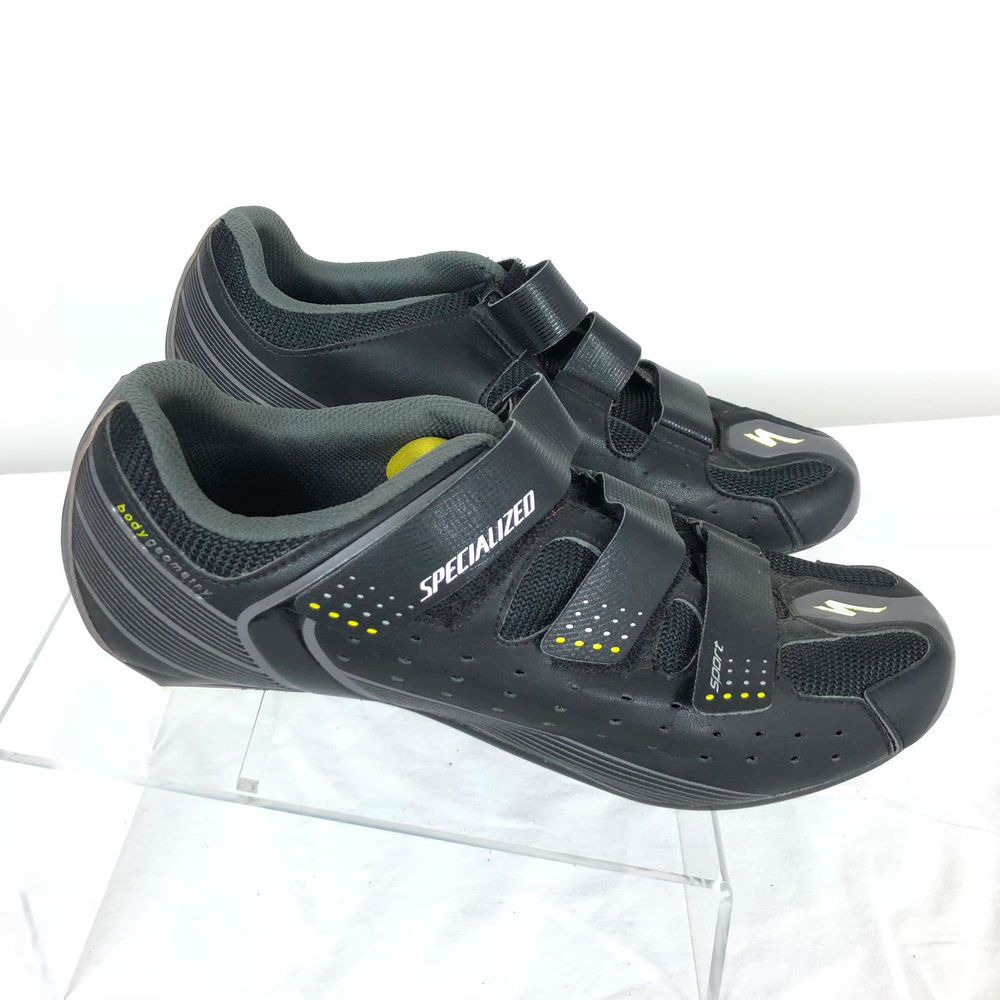 Specialized Sport Road Shoes Black/Yellow US Size 10