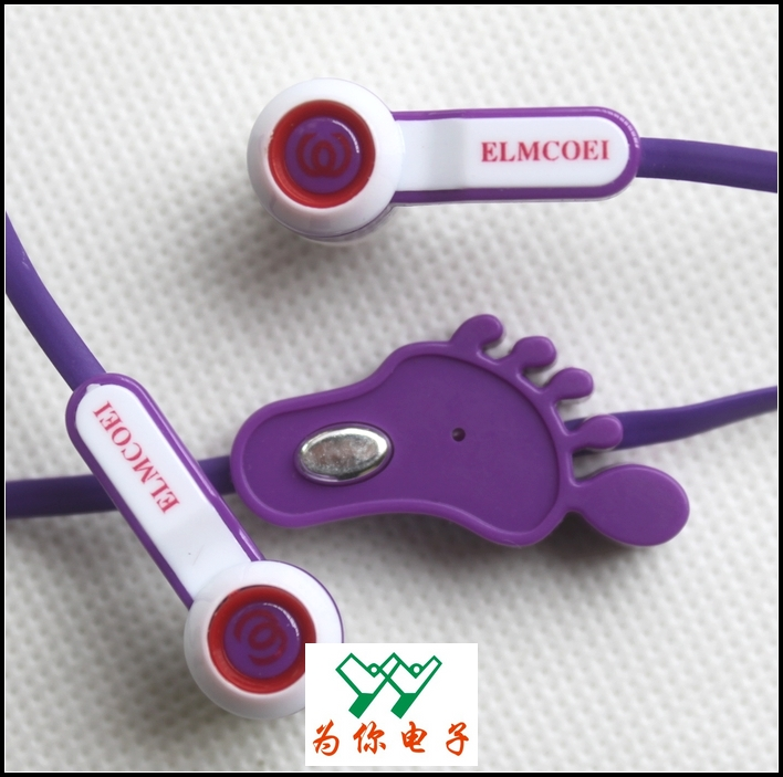 ELMCOEI EL-6300 EARPHONES FOR PHONES, IPODS ETC.