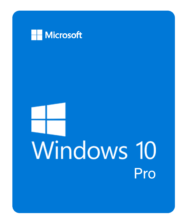 Windows 10 Pro - 1 PC (Complete Package)
