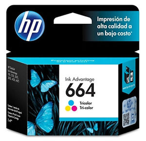 HP 664 - Color (cyan, magenta, yellow) - original