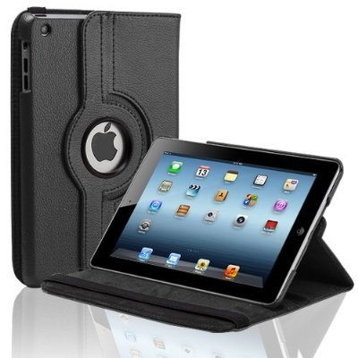 IPAD MINI Solid Color Rotational Case